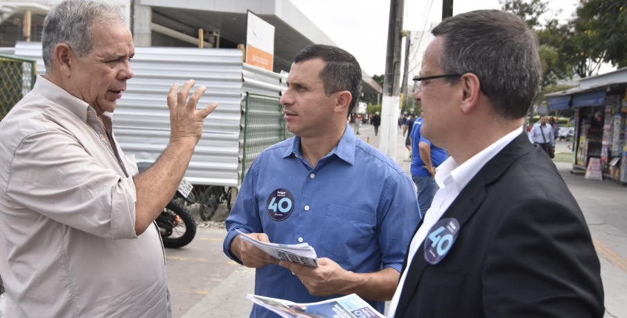 Felipe Peixoto tem agenda repleta de compromissos neste segundo turno